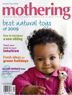 mothering cover copy