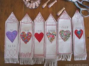 handmade bookmark's