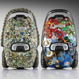 Recycled Vacuums Made from debris