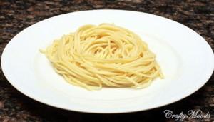 A heap of pasta
