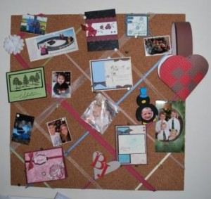 Cork Board for mom