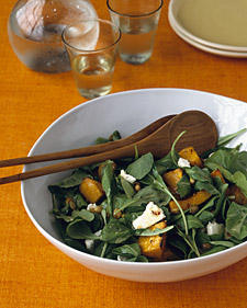 """Maple Roasted Pumpkin Salad."""