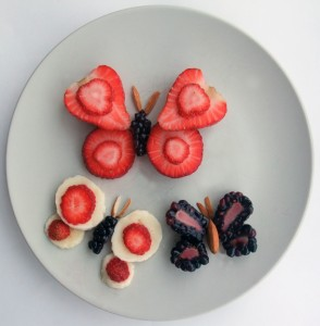 Butterfly Food Art