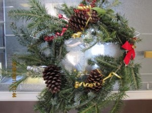 """Christmas Wreath."""