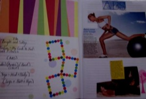 """Work-out Scrapbook"""