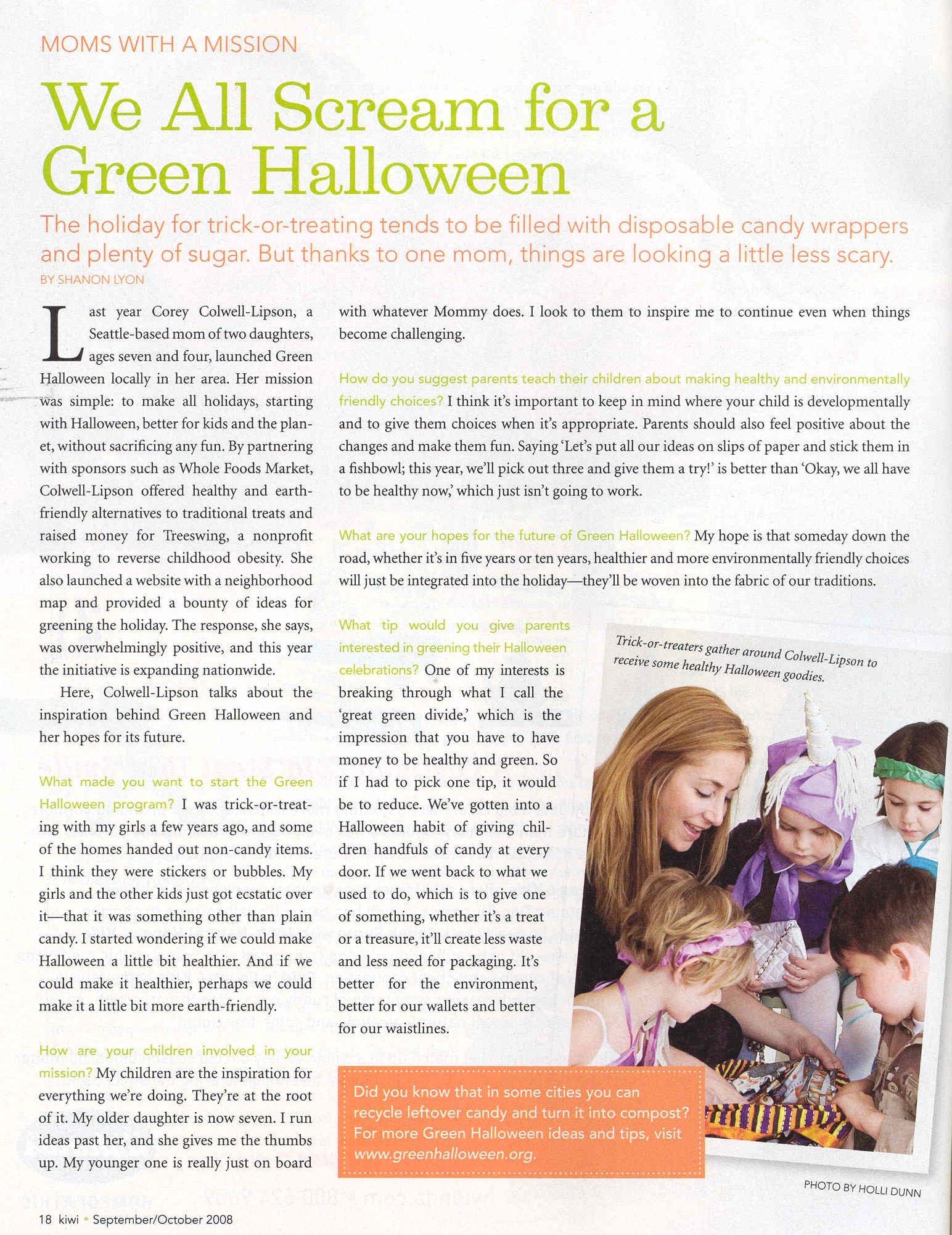 green halloween the healthy eek o friendly fun revolution - Article About Halloween